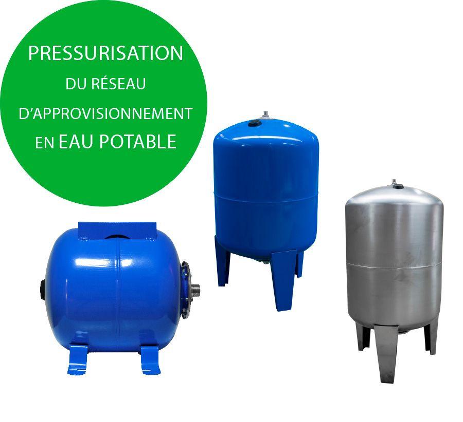 Vases d'expansion d'eau froide
